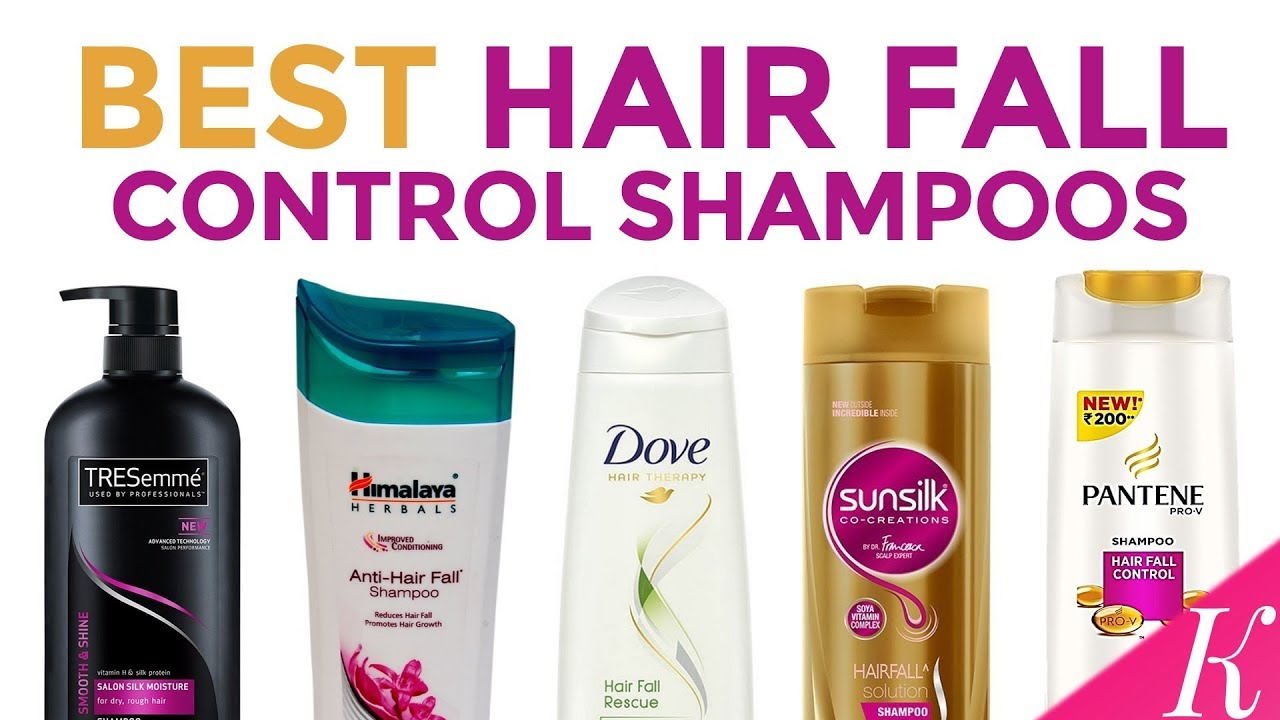 9 Best Anti Hair Fall Shampoos In India With Price
