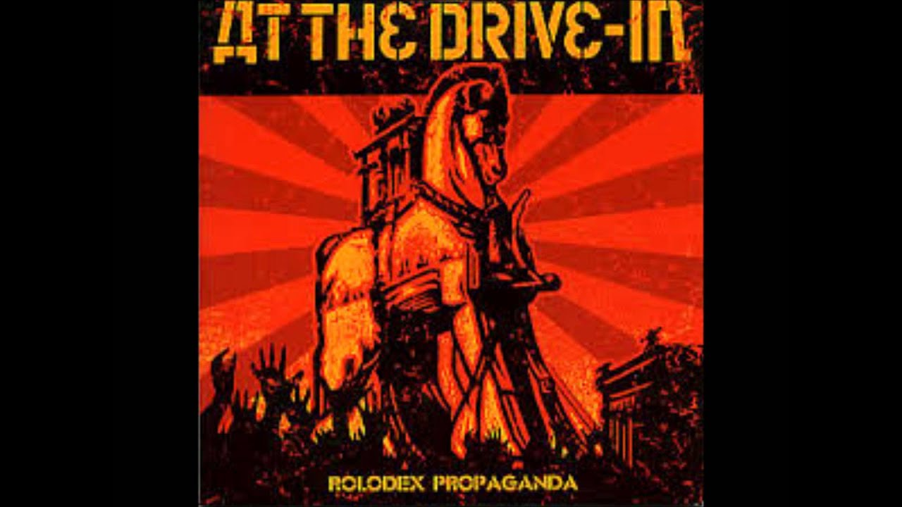 at the drive in rolodex propaganda 7 single youtube