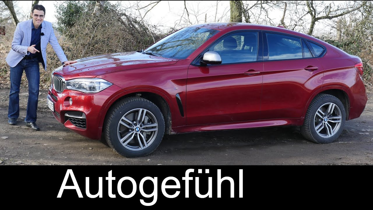 All New 2016 Bmw X6 M50d Test Driven Full Review 381 Hp