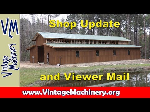 Odds & Ends 43:  Shop Update and Viewer Mail