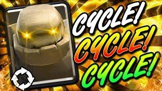 #1 HYPER AGGRESSIVE GOLEM LADDER DECK!! FAST CYCLE BEATDOWN!