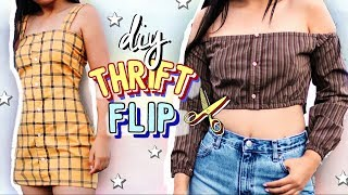 THRIFT FLIP | spicy DIY Clothing Transformation (Part 2) | JENerationDIY
