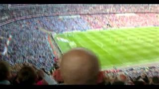 Yaya Toure's Goal Manchester City vs Stoke City FA Cup Final At Wembley