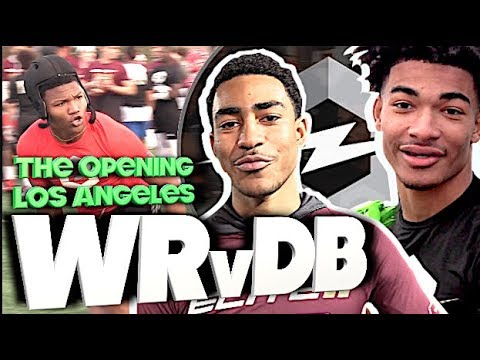 🔥 The Opening Regionals | Los Angeles | WR V DB | 1v1s | Under The Radar Highlight Mix