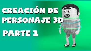 Creación de personajes 3d en 3DS MAX, modelado PARTE 1