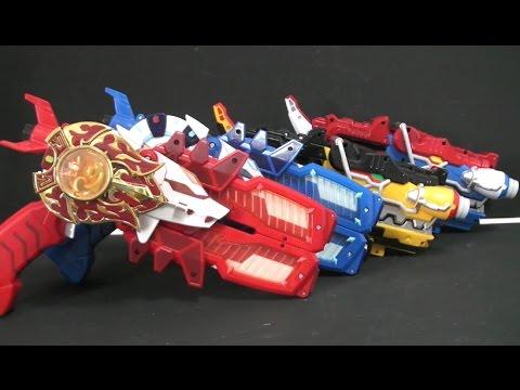 미니특공대 트랜스웨폰 파워레인저 다이노포스 가브리볼버 장난감 Miniforce Power Rangers Dino Charge Transformation Gun Toys
