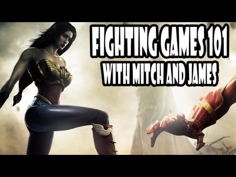 Fighting Games 101 - Cancels, Mix Ups, and Cross Ups - Mitch Teaches James