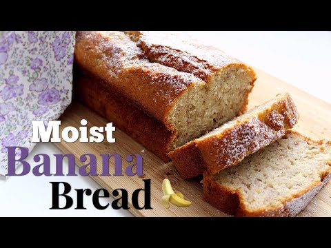 The Ultimate Banana Bread Recipe - EASY And MOIST | Daniela's Home Cooking