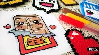 kawaii drawings draw easy chocolate kw garbi nutella visitar