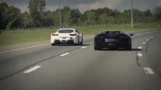 видео Lamborghini Murcielago от Liberty Walk для дрифта