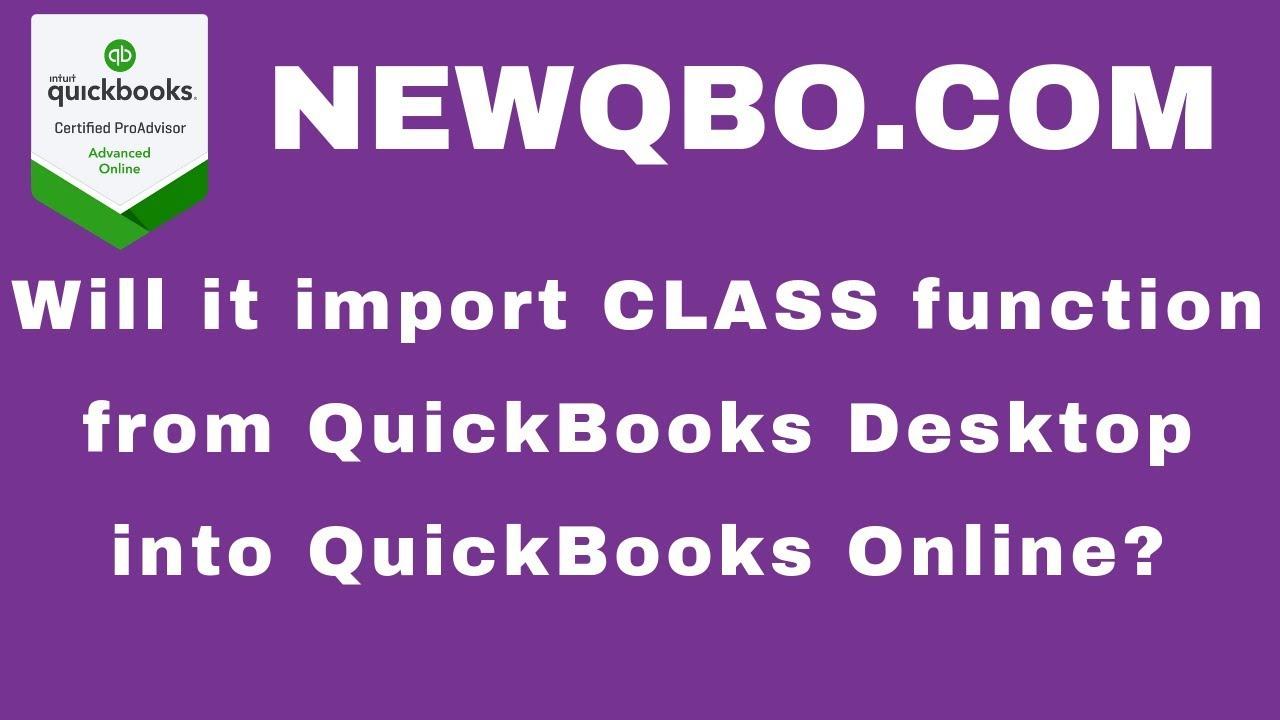 Import Desktop Data | NEWQBO COM