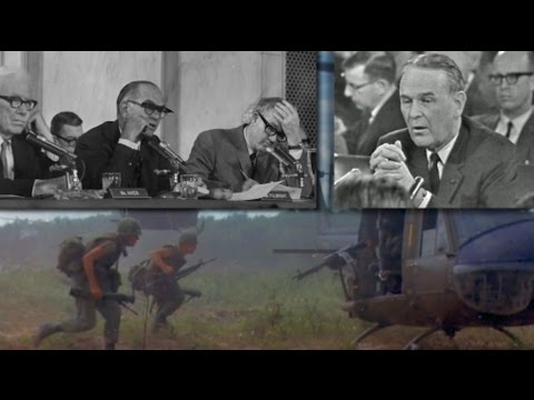 1966 Vietnam Hearings Maxwell Taylor & Wayne Morse Preview