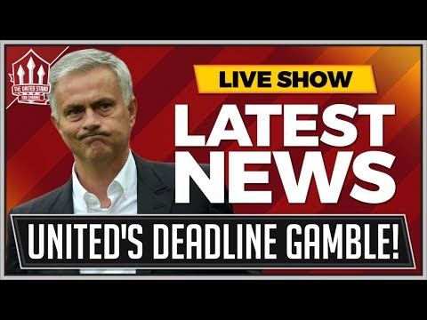 MOURINHO'S Manchester United Transfer Deadline Gamble! MAN UTD Transfer News