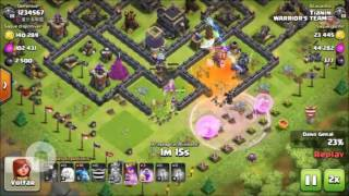 Ataque farme de elixir negro (clash Of Clans)