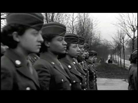0c792a6f87b World War II- Major Charity Adams- 6888 Postal Battalion - YouTube