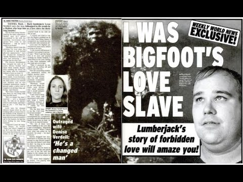 Bigfoot Sex Slaves, Ghostly Recordings Turn Skeptics to Believers, and Bigfoot Statue Stolen