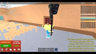 How to get gear in Roblox High School! fire gear and a sword/hammer!