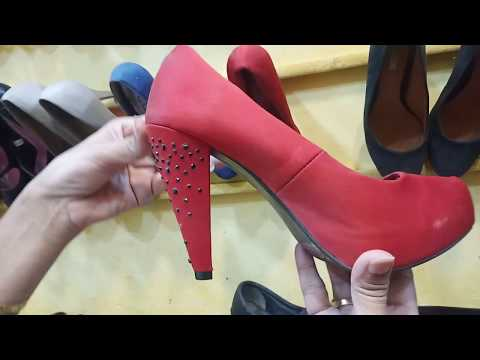 Second Hand Shoes For Ladies || Multan Landa Bazzar Cheap Price