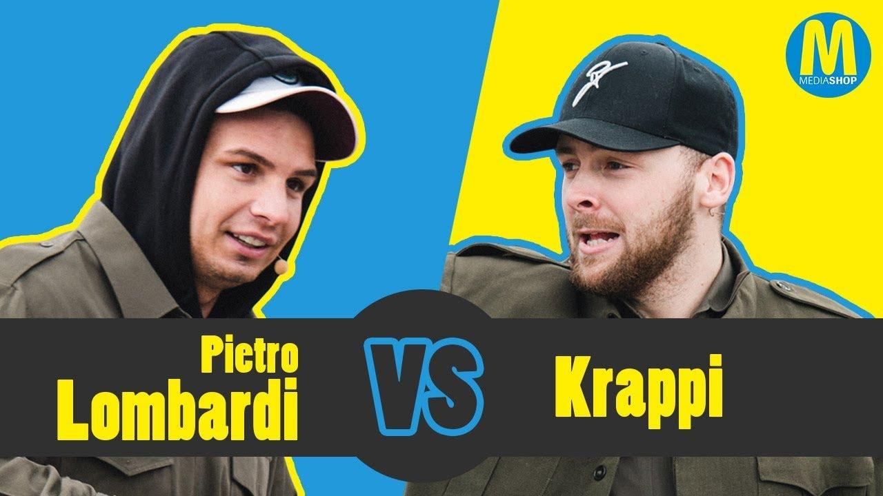 Mediashop Challenge Pietro Lombardi Vs Krappi Paint Runner Pro