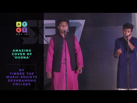 Amazing 'Husna' Cover by Deshbandhu College's Music Society, Timbre   Pulse 2017