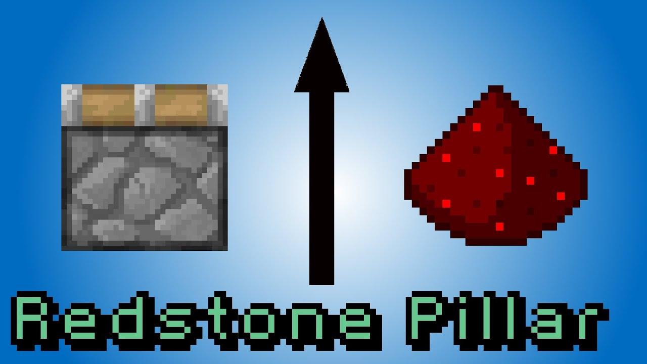 Minecraft Redstone Vertical Wiring Hidden Youtube