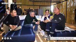 Salone del Mobile.Milano 2016 | RODA - Guillaumier, Dordoni, Sciortino, Zucchi