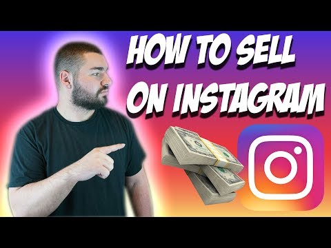 How To SELL On Instagram (2018)
