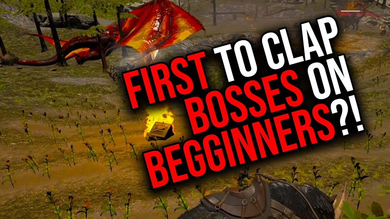 FIRST ON BEGINNER TO DO BOSSES?! | ARK MTS TRIO PVP