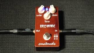 Eddie Van Halen ヴァン・ヘイレン のブラウンサウンド CMATMODS Browni...