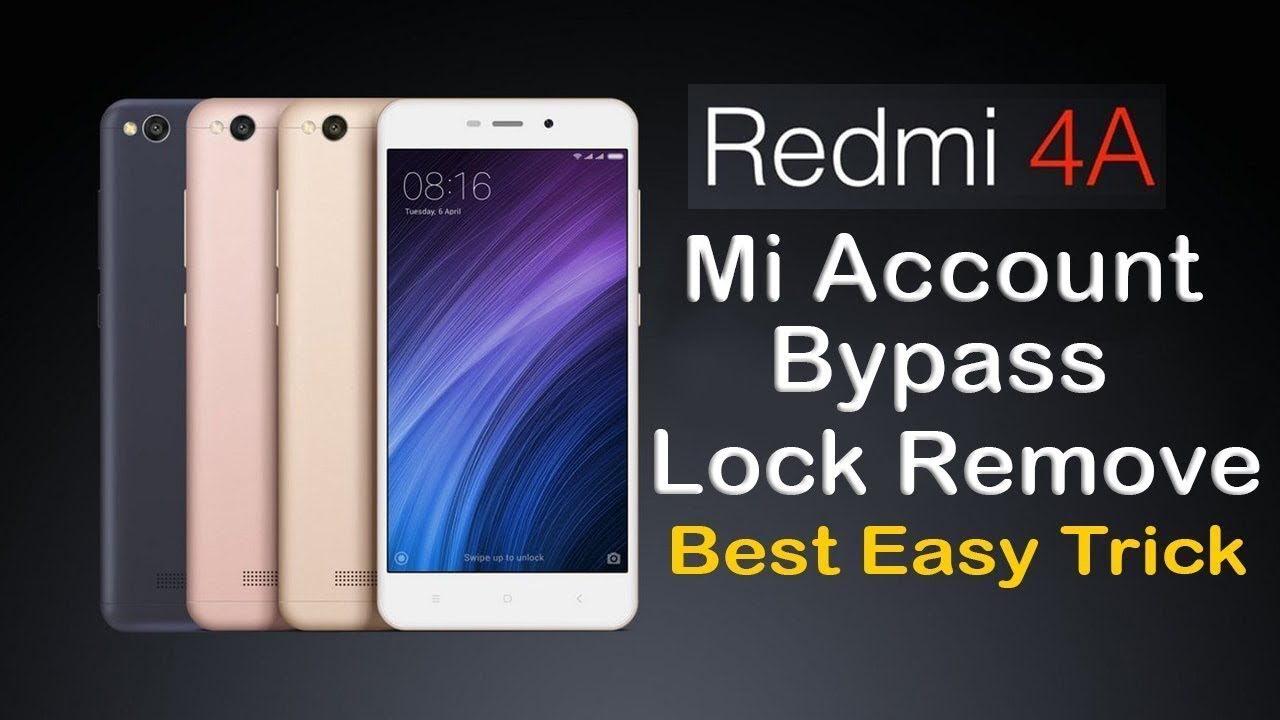 Redmi 5a Mi Account Remove Umt