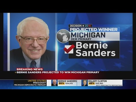Sanders, Trump win Michigan primaries