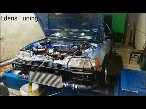 Turbo SOHC ZC On The Dyno.