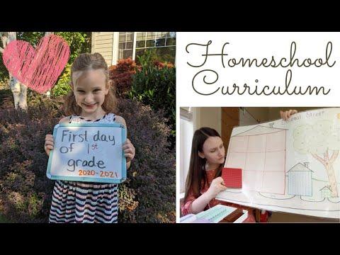 1st Grade Homeschool Curriculum (2020-2021)
