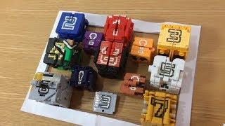 動物戦隊ジュウオウジャー ロボットまとめ2 変形合体シーン、キメ技シーンをミニプラで再現/Dobutsu sentai Zyuohger minipla battle scene2