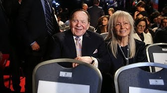 How Sheldon Adelson Influenced Trump's Israel Policy