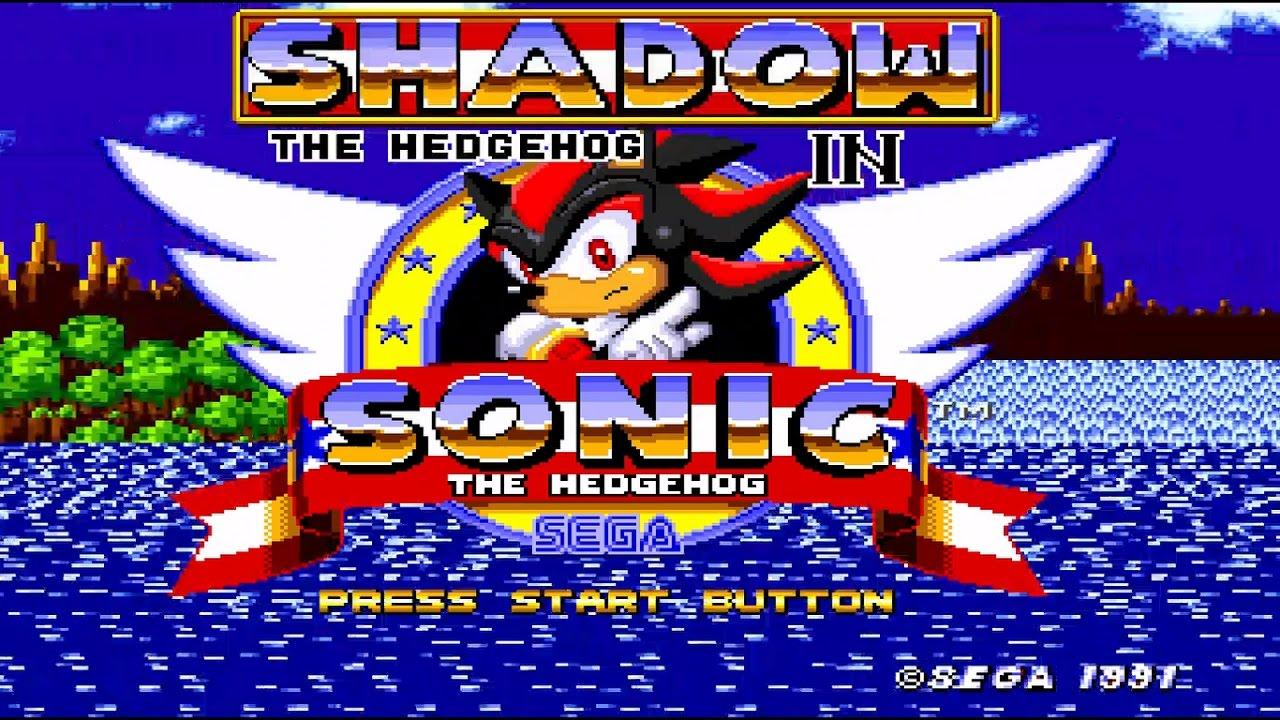 Shadow In Sonic The Hedgehog Sega Genesis Rom Hack Gameplay Hd Youtube