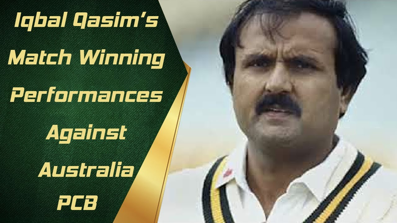 Iqbal Qasim Takes Us Through Two Memorable Match Winning Performances Against Australia | PCB