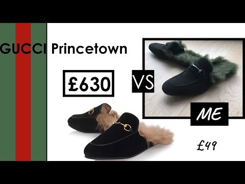 DIY DESIGNER SHOES GUCCI PRINCETOWN LOAFER