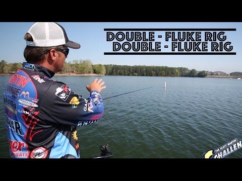 Advanced Fishing Tip: Double Fluke Rig - How to rig it to catch bass