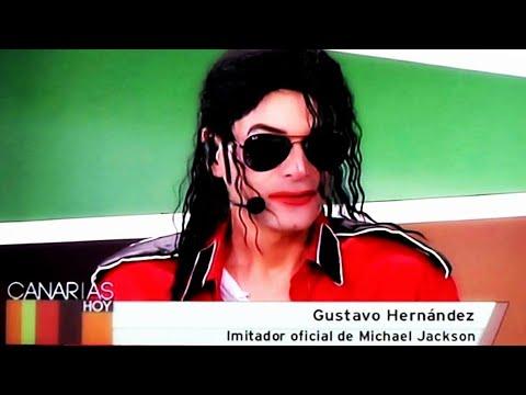 "Gus Jackson en ""Canarias hoy"" Television Canaria - Spain Official Impersonator"
