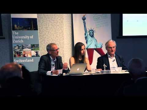 UZH @ «Zurich meets New York»: Talk with Prof. Fehr, Economics, and Prof. Pfeifer, Robotics