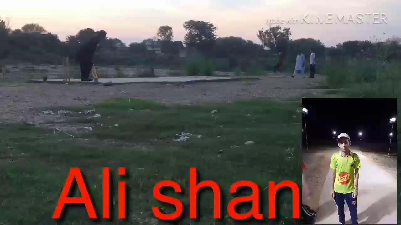 Barnala tapeball cricket bowler ali shan