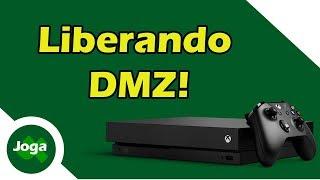 Liberando todas as portas para Xbox One e PS4 com DMZ