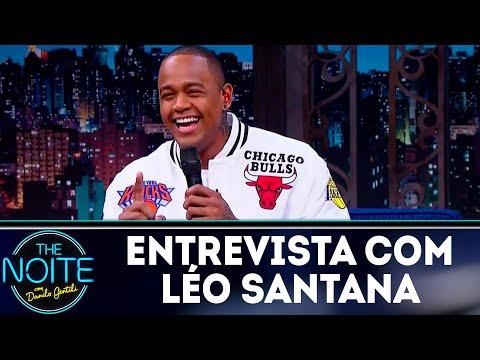 Entrevista com Léo Santana | The Noite (18/06/18)