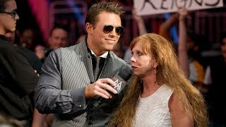 "The Miz's mom embarrasses him on ""Miz TV"": SmackDown, July 25, 2014"