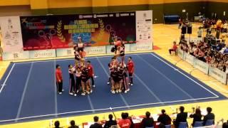 元朗區體育節2016 元朗區啦啦隊公開錦標賽 中學組 香港管