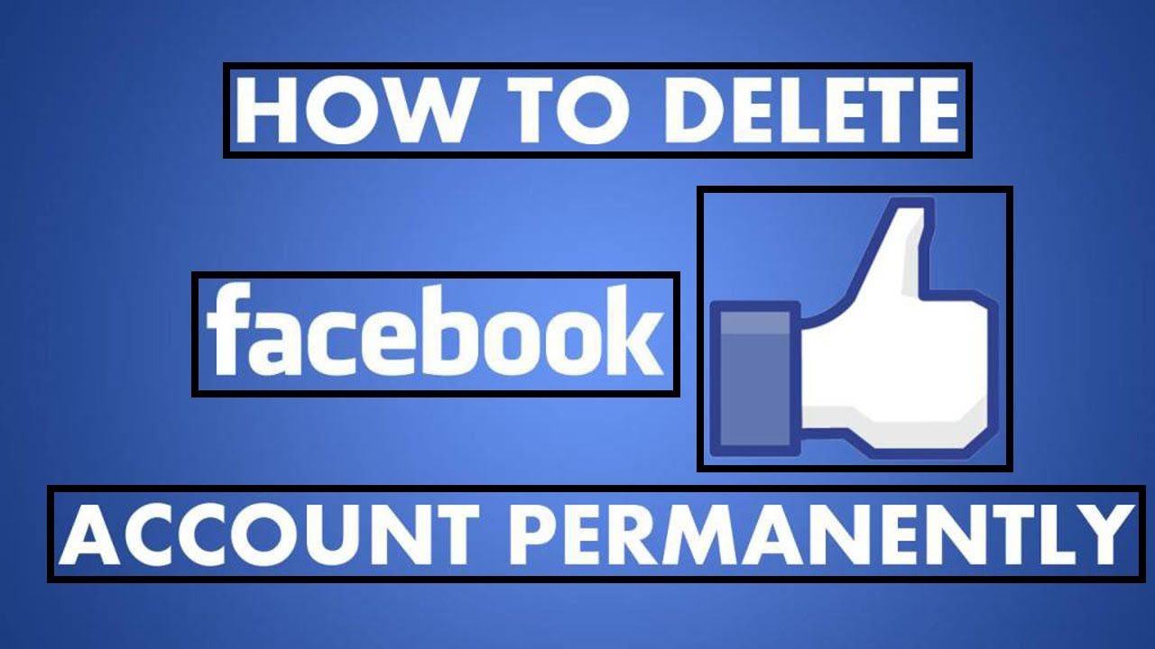 How to delete facebook account permanently or forever 2016 urdu how to delete facebook account permanently or forever 2016 urduhindi youtube ccuart Choice Image