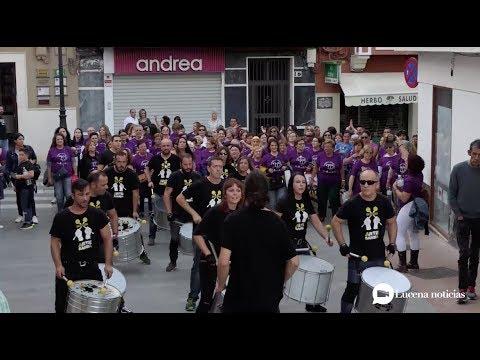 VÍDEO: Una batucada cierra la I Marcha Subbética Igualitaria en la Plaza Nueva