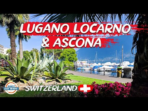 Discover the Italian Region of Switzerland - Locarno, Ascona & Lugano | 80 Countries with 3 Kids