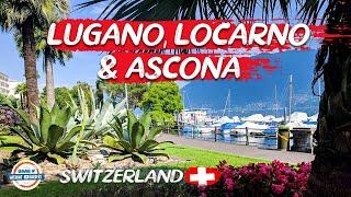 Discover the Italian Region of Switzerland - Locarno, Ascona & Lugano | 80 Countries with 3 Kids